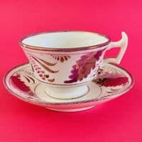 Antique | Pink Lustre Collection | Duo x 4 | c1800s